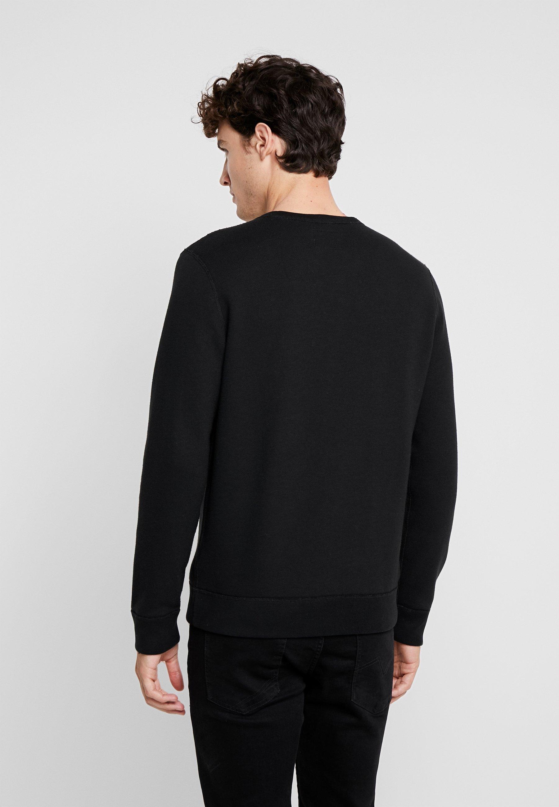 Abercrombie & Fitch Logocon Applique Crew - Sweatshirt Black Friday