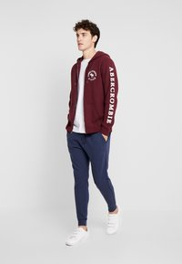 Abercrombie & Fitch - LOGOCON APPLIQUE - Collegetakki - burgundy - 1