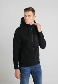 Abercrombie & Fitch - INTERIOR SHERPA - Light jacket - black - 0