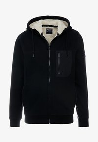 Abercrombie & Fitch - INTERIOR SHERPA - Light jacket - black - 3