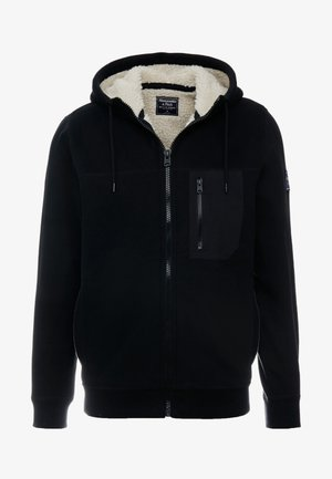 INTERIOR SHERPA - Lehká bunda - black