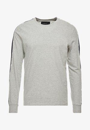 LONG SLEEVED TAPE CREW - Pitkähihainen paita - grey