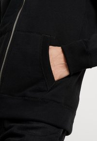 Abercrombie & Fitch - ICON INTERIOR SHERPA  - veste en sweat zippée - black - 5