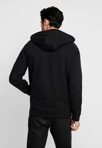 Abercrombie & Fitch - ICON INTERIOR SHERPA  - veste en sweat zippée - black - 2