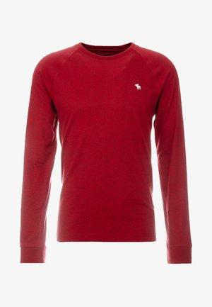 ICON CREW - Pitkähihainen paita - red texture