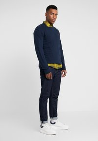 Abercrombie & Fitch - ICON CREW - Long sleeved top - navy - 1