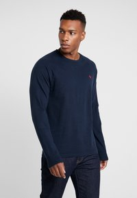 Abercrombie & Fitch - ICON CREW - Long sleeved top - navy - 0
