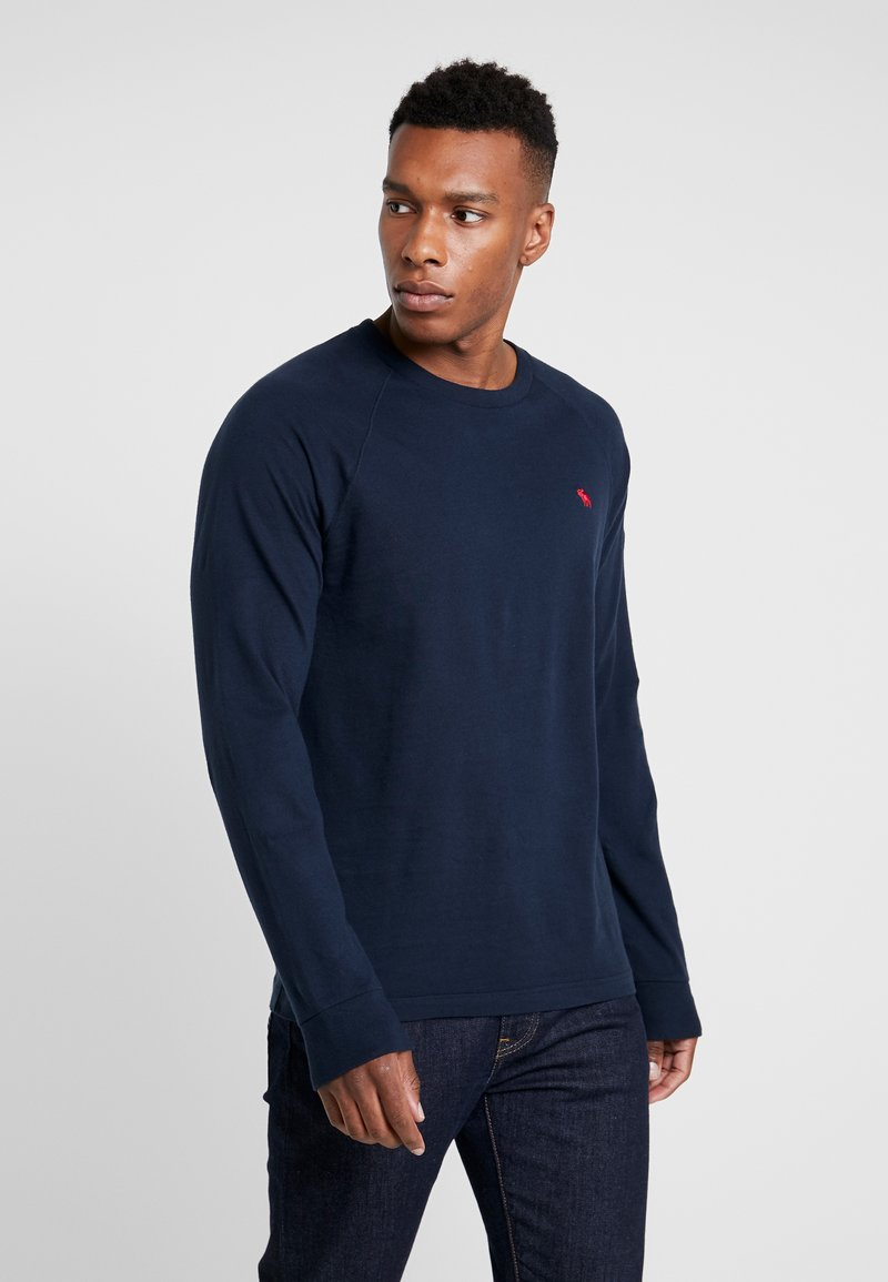 Abercrombie & Fitch - ICON CREW - Long sleeved top - navy