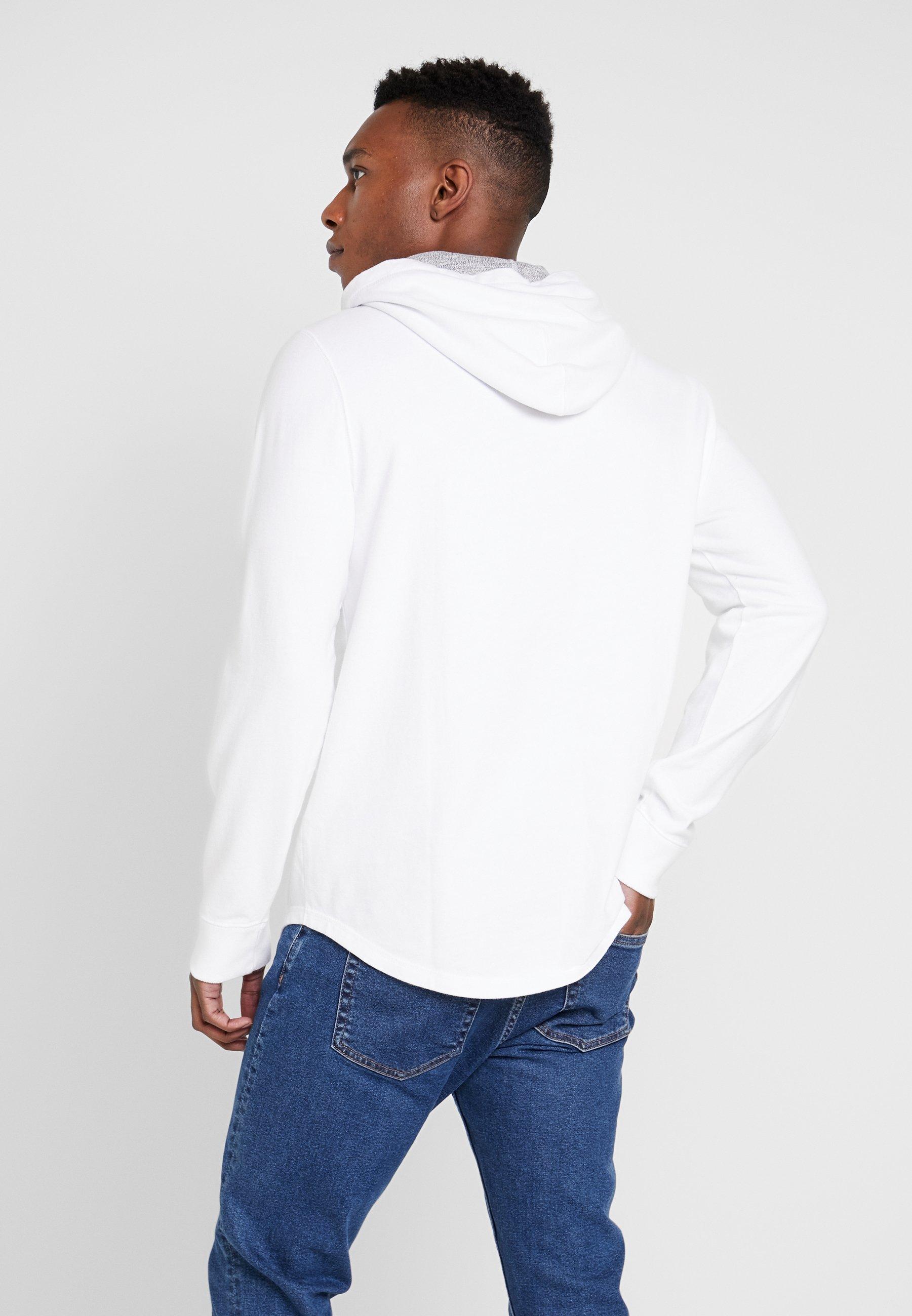 Abercrombie & Fitch Graphic Hood - Kapuzenpullover White Black Friday