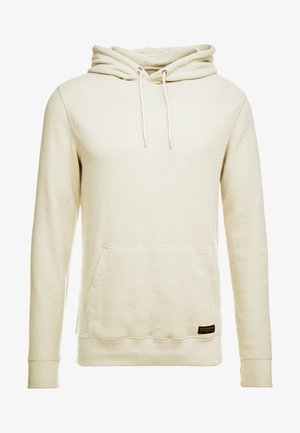 WAFFLE HOOD - Sweat à capuche - light grey