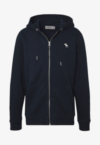 Abercrombie & Fitch - ICON FULLZIP  - Zip-up hoodie - navy - 4