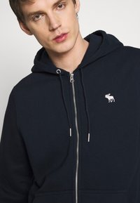 Abercrombie & Fitch - ICON FULLZIP  - Zip-up hoodie - navy - 5