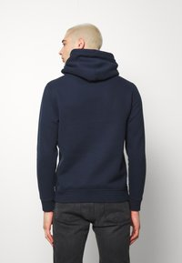 Abercrombie & Fitch - EXPLODED ICON POPOVER - Mikina s kapucí - blue - 2