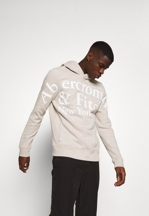EXPLODED TRENDLOGO - Jersey con capucha - cream