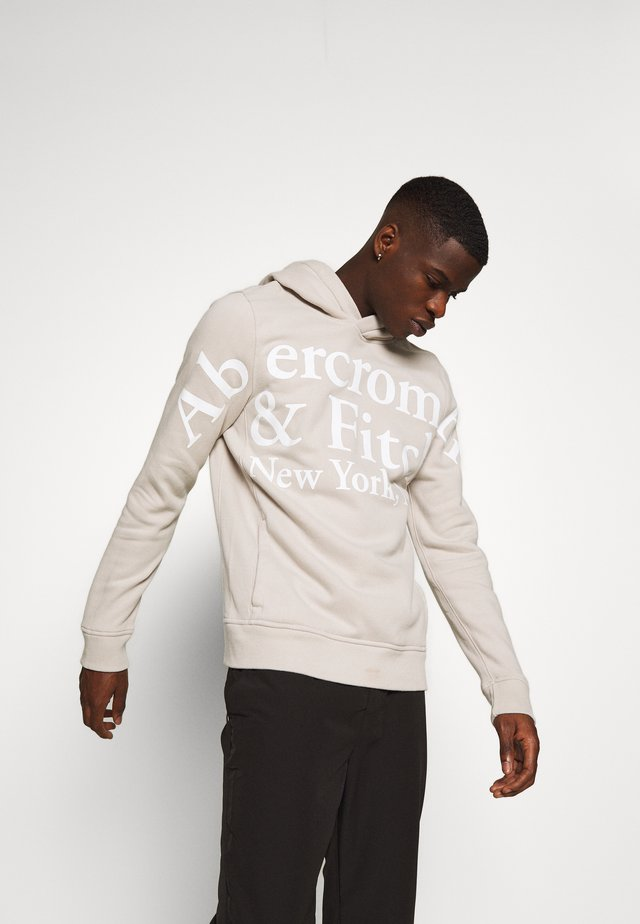 EXPLODED TRENDLOGO - Hoodie - cream