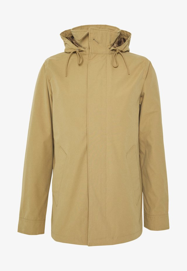 SPRING REFINED MIDLENGTH  - Waterproof jacket - khaki
