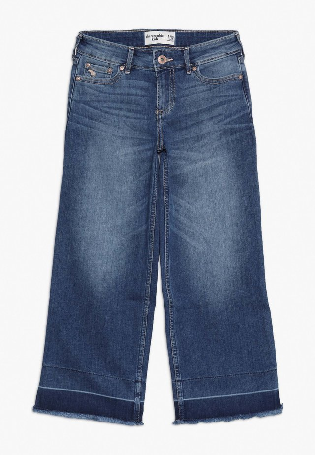 WIDE LEG  - Flared Jeans - blue denim