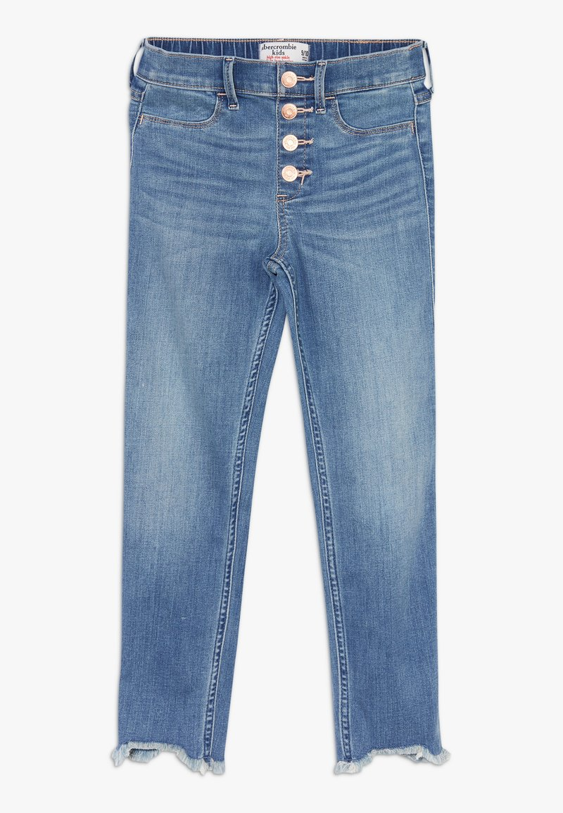 Abercrombie & Fitch - ANKLE - Jeans Skinny Fit - medium clean wash