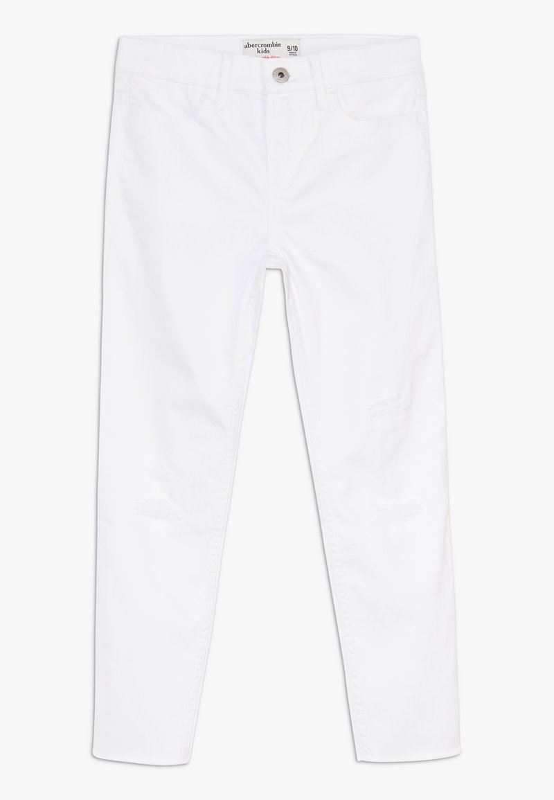 Abercrombie & Fitch - ANKLE  - Jeans Skinny Fit - white
