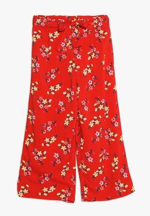 PANT - Kalhoty - red