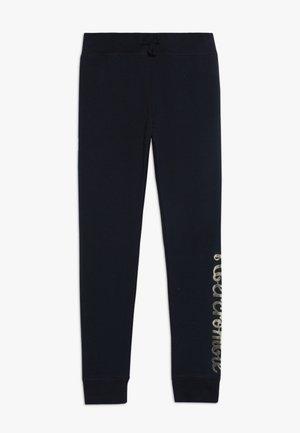 CORE LOGO - Teplákové kalhoty - navy
