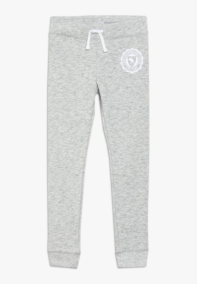 Abercrombie & Fitch - SECONDARY FLEGGING - Tracksuit bottoms - light grey