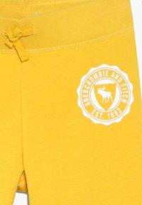 Abercrombie & Fitch - SECONDARY FLEGGING - Spodnie treningowe - yellow - 4