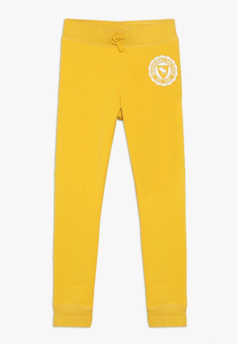 Abercrombie & Fitch - SECONDARY FLEGGING - Spodnie treningowe - yellow