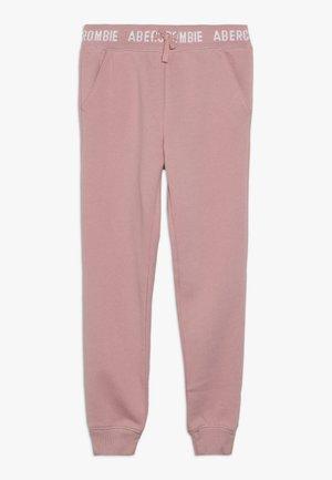 LOGO  - Teplákové kalhoty - pink