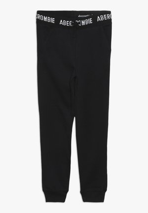 LOGO SLIM - Pantalon de survêtement - black