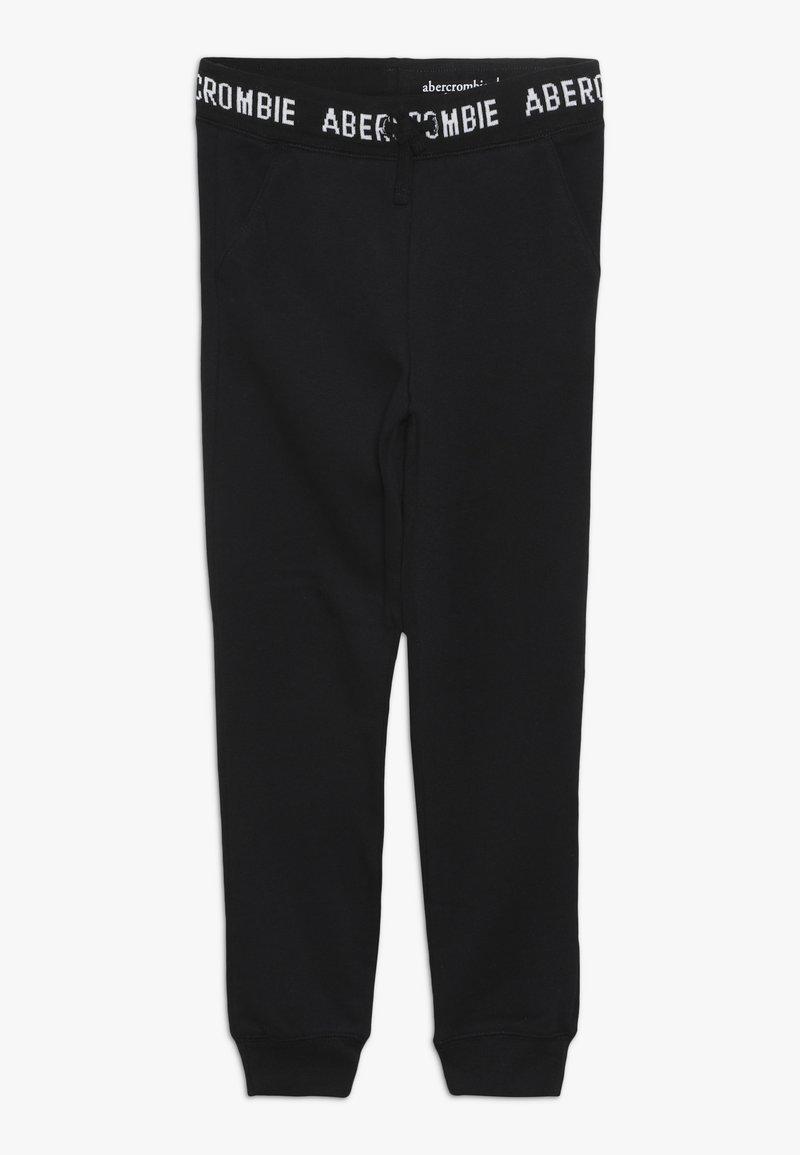 Abercrombie & Fitch - LOGO SLIM - Teplákové kalhoty - black