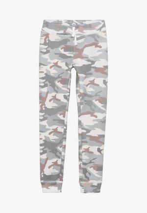 CORE LOGO  - Teplákové kalhoty - light grey/pink