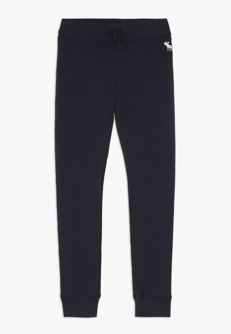 Abercrombie & Fitch - Teplákové kalhoty - navy