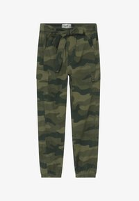 Abercrombie & Fitch - UTILITY JOGGER - Cargo trousers - olive - 2