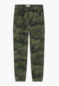 Abercrombie & Fitch - UTILITY JOGGER - Cargo trousers - olive - 0