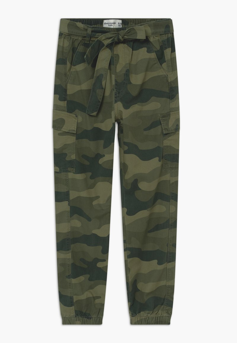 Abercrombie & Fitch - UTILITY JOGGER - Cargo trousers - olive