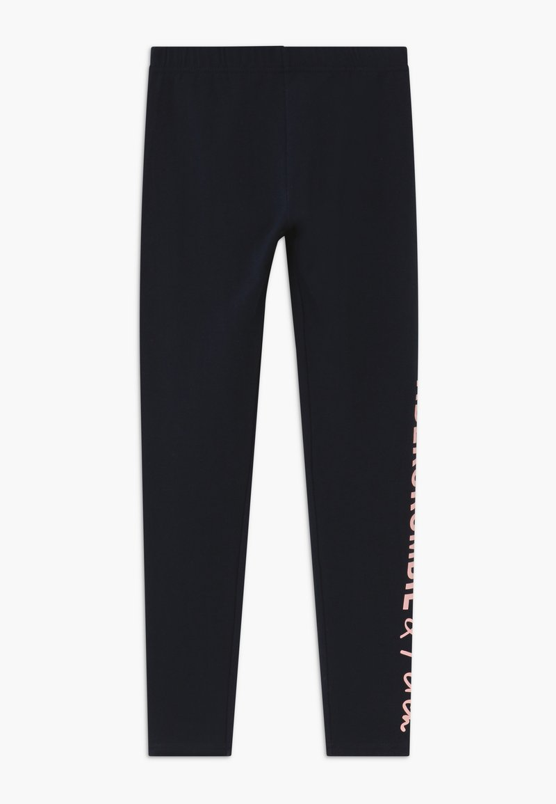 Abercrombie & Fitch - Leggings - Trousers - navy/pink