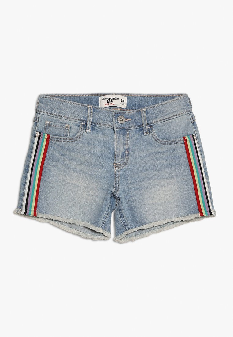 Abercrombie & Fitch - FASHION - Denim shorts - rainbow