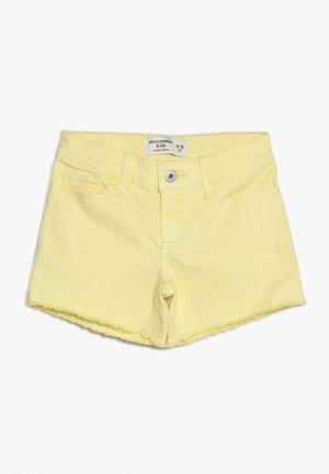FASHION MIDI  - Jeans Short / cowboy shorts - yellow
