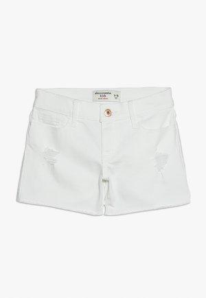 CORE - Shorts vaqueros - white