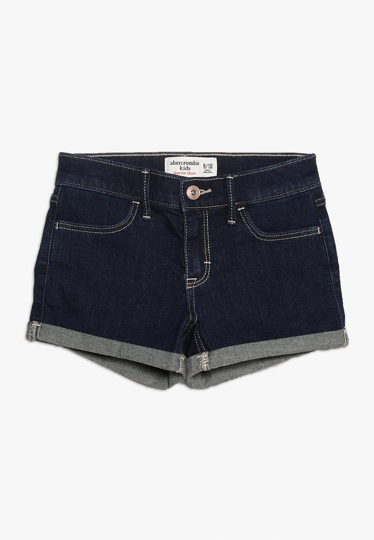 Abercrombie & Fitch - CORE - Denim shorts - rinse