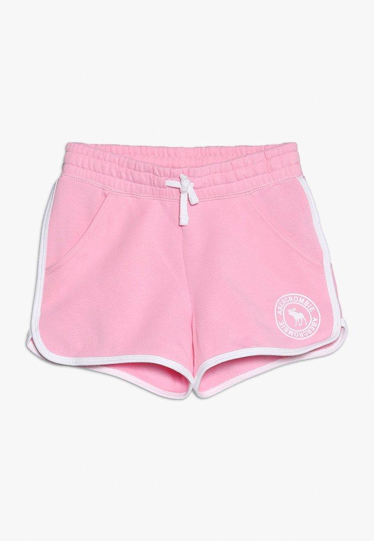Abercrombie & Fitch - YOUNG CORE CURVED  - Teplákové kalhoty - pink