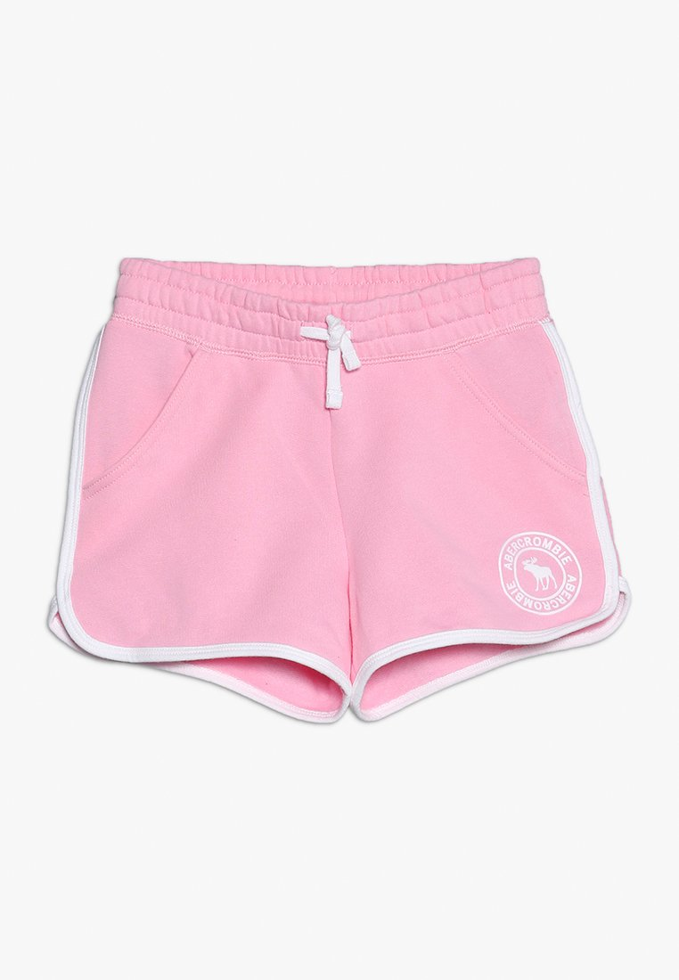 Abercrombie & Fitch - YOUNG CORE CURVED  - Pantalon de survêtement - pink