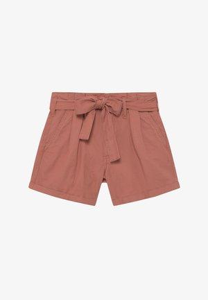 MINI - Shorts di jeans - brown