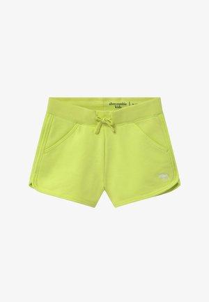 CURVED - Spodnie treningowe - lime