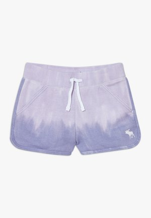 CURVED - Tracksuit bottoms - purple