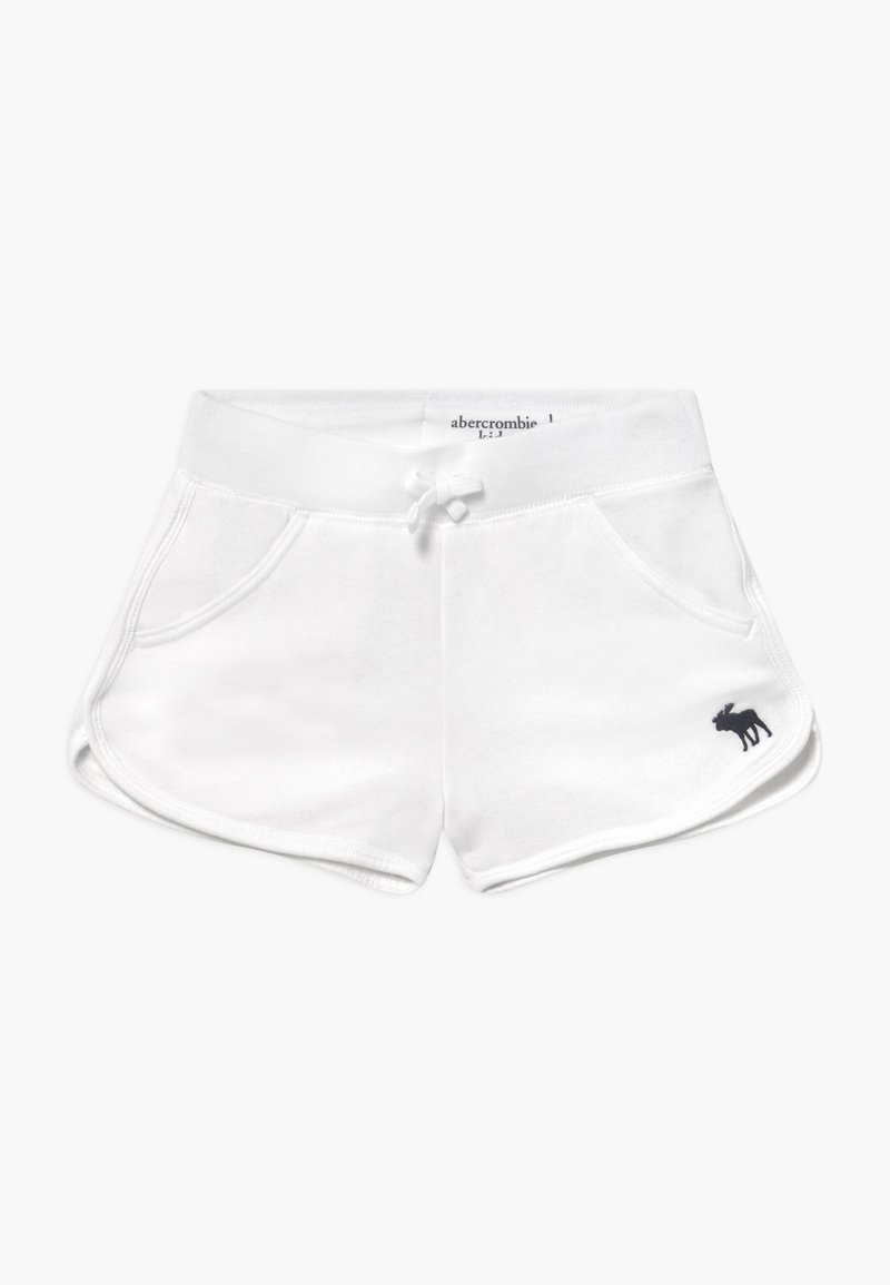 Abercrombie & Fitch - Teplákové kalhoty - white