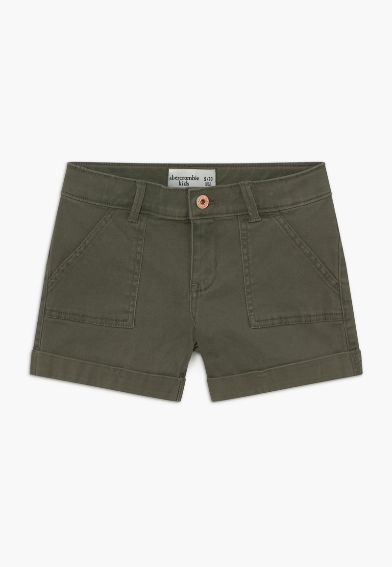 Abercrombie & Fitch - MIDI - Shorts - olive