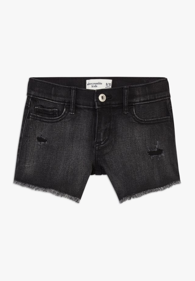 CORE  - Denim shorts - black