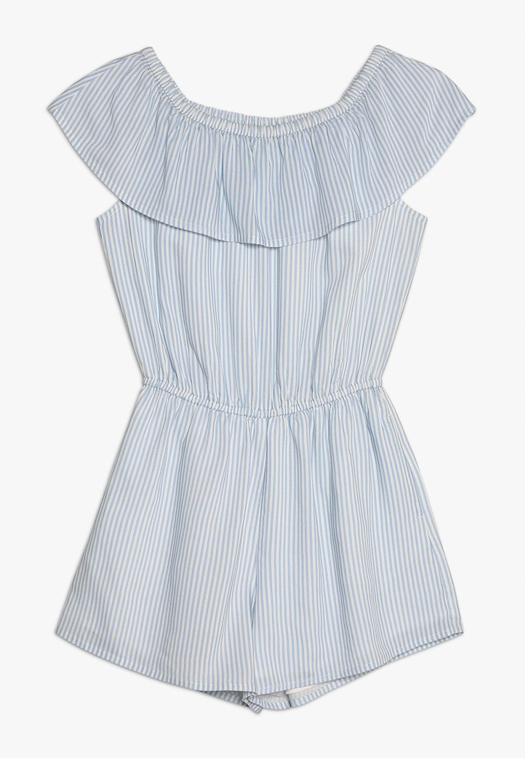 Abercrombie & Fitch - RUFFLE ROMPER  - Jumpsuit - blue menswear